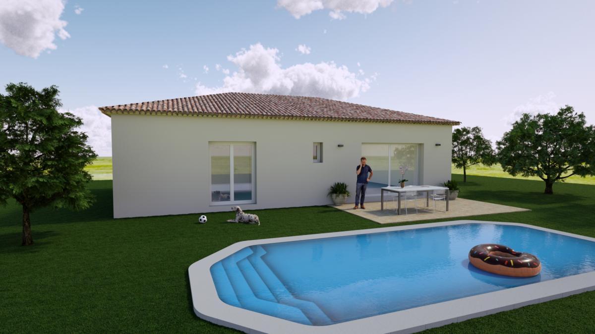 Maisons du constructeur ESQUISS 13 • 90 m² • CARNOULES