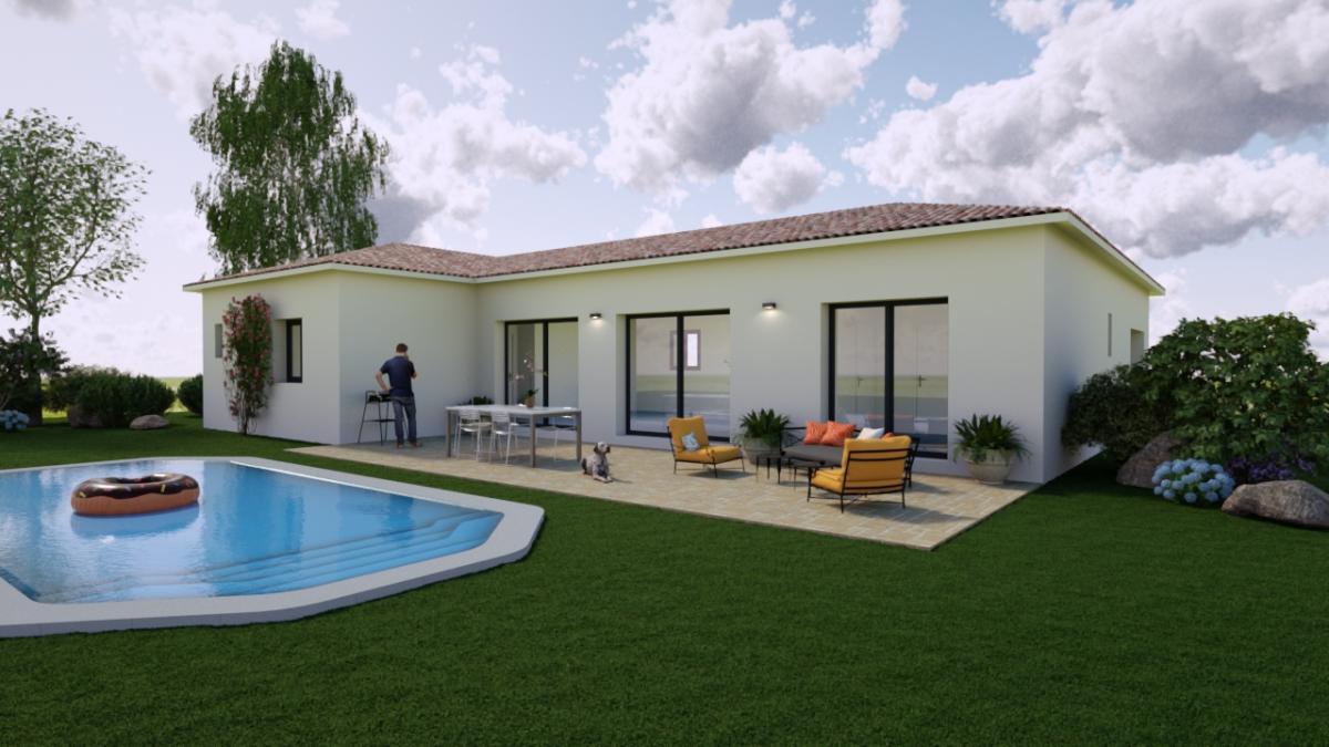Maisons du constructeur ESQUISS 13 • 100 m² • CABASSE