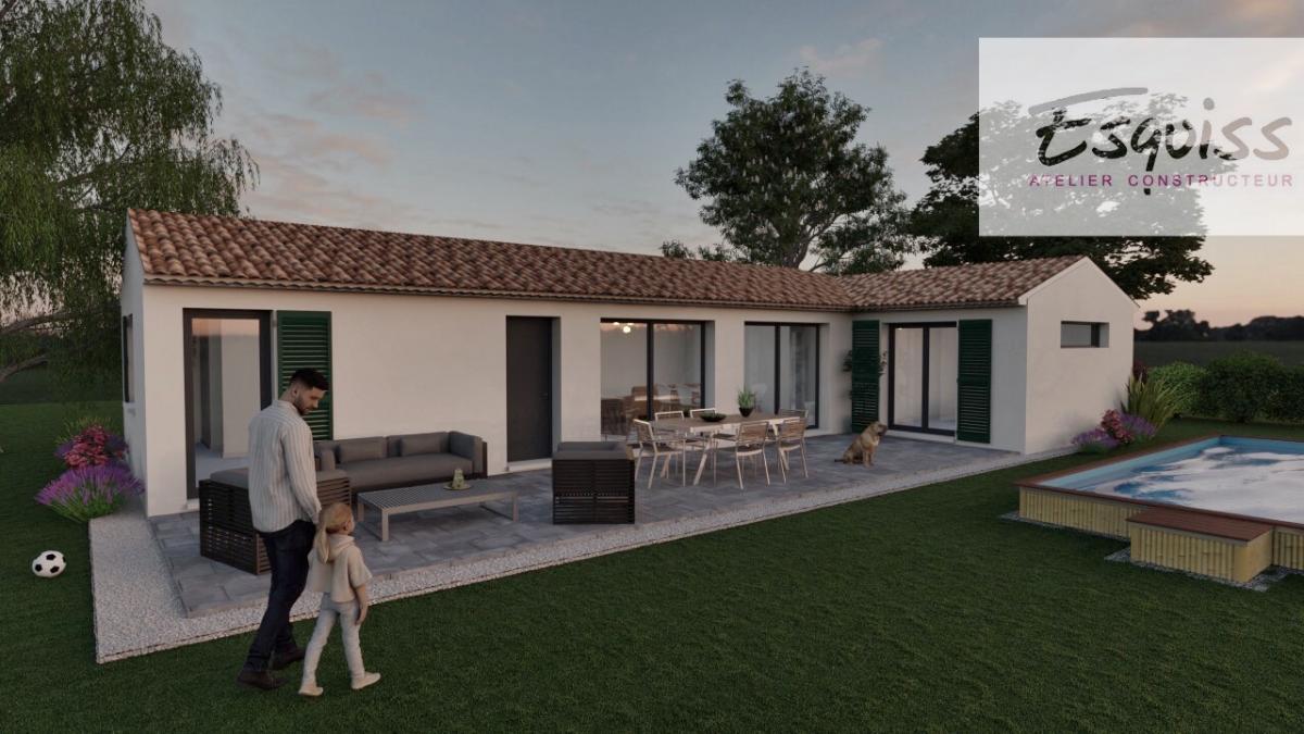 Maisons du constructeur ESQUISS 13 • 90 m² • LE VAL