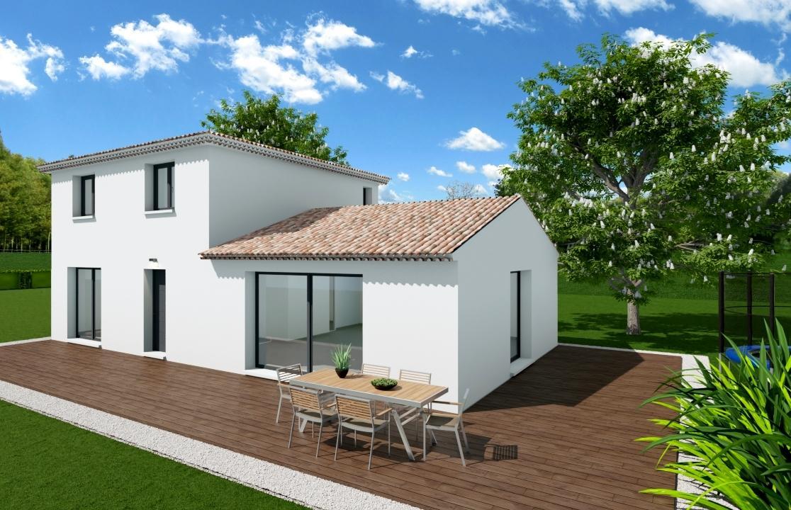 Maisons du constructeur ESQUISS 13 • 120 m² • LE VAL