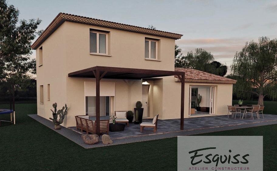 Maisons du constructeur ESQUISS 13 • 125 m² • LE CASTELLET