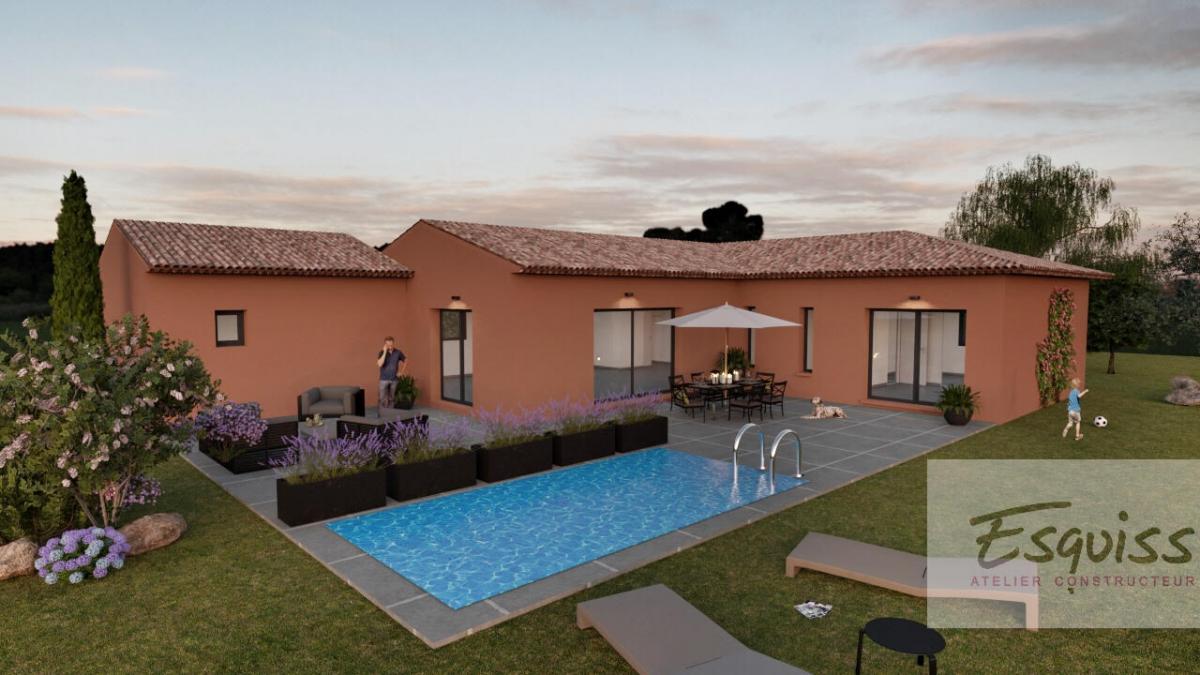 Maisons du constructeur ESQUISS 13 • 110 m² • LE CASTELLET