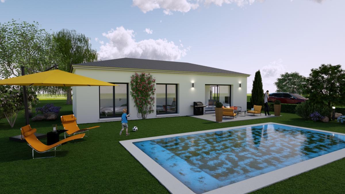 Maisons du constructeur ESQUISS 13 • 100 m² • VIDAUBAN