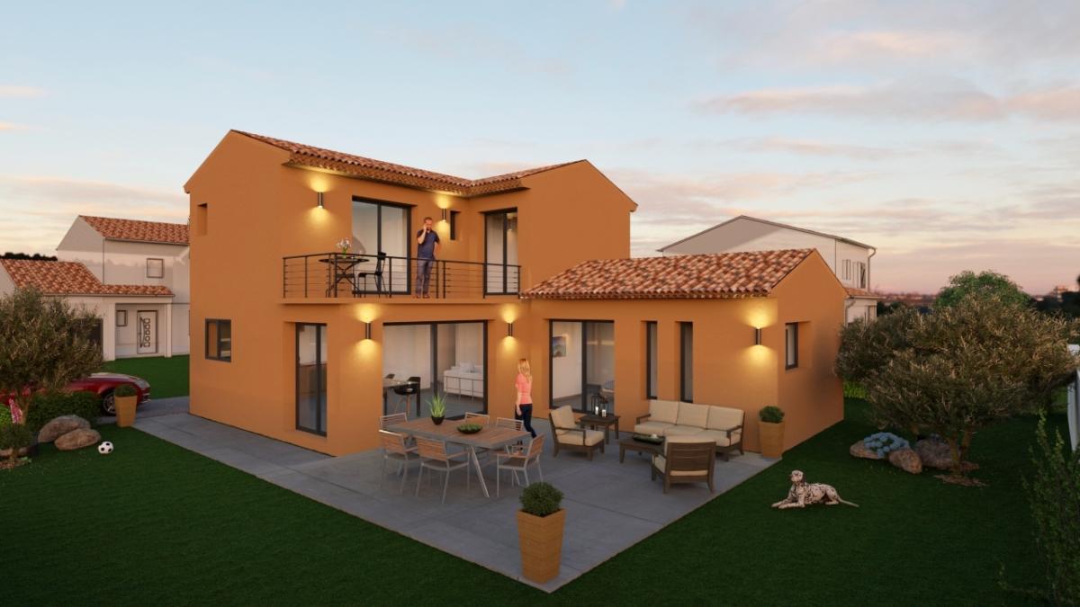Maisons du constructeur ESQUISS 13 • 130 m² • NANS LES PINS