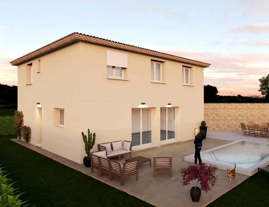 Maisons du constructeur ESQUISS 13 • 130 m² • LE VAL