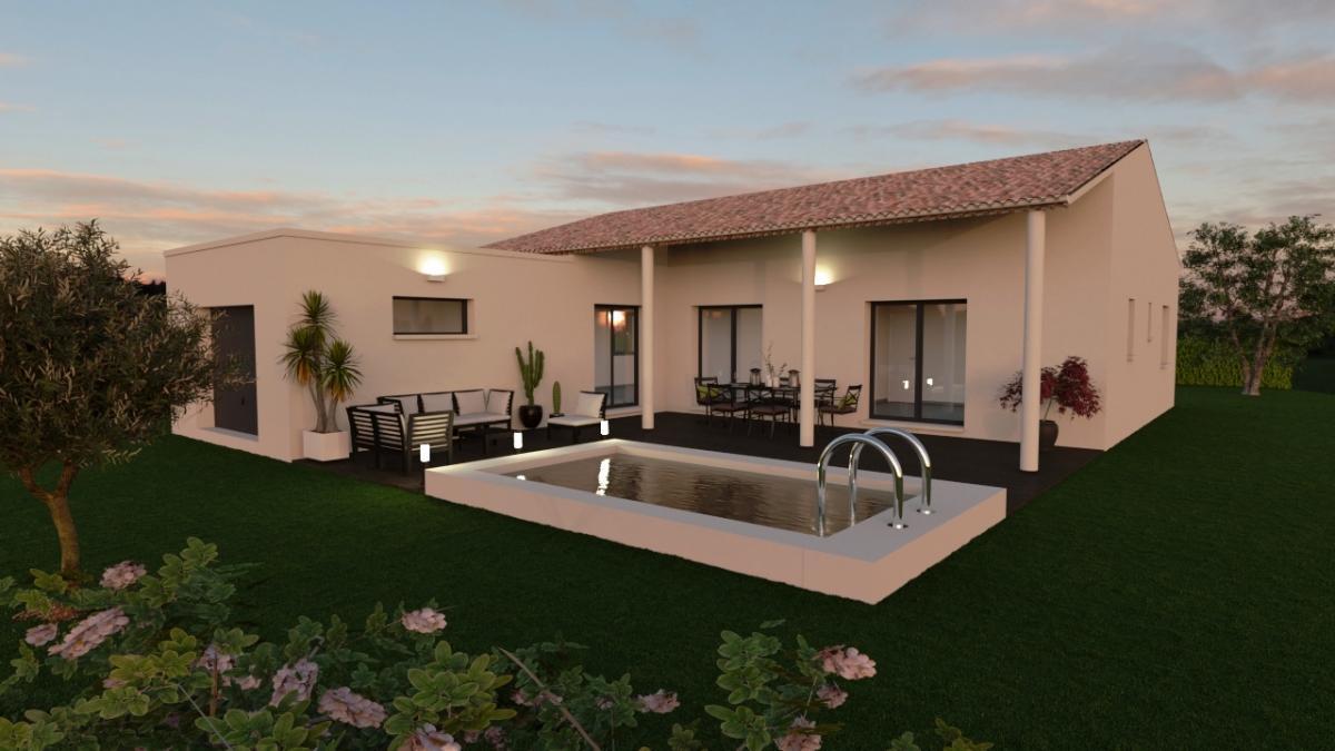 Maisons du constructeur ESQUISS 13 • 91 m² • CARCES