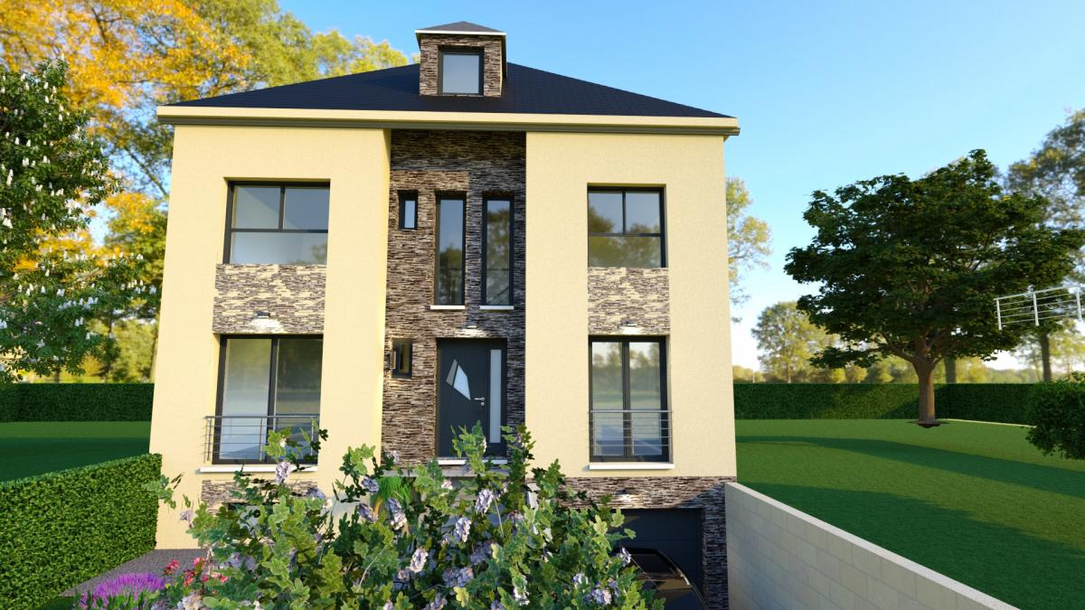 Maisons du constructeur MAISONS VESTALE 92 • 140 m² • ANTONY
