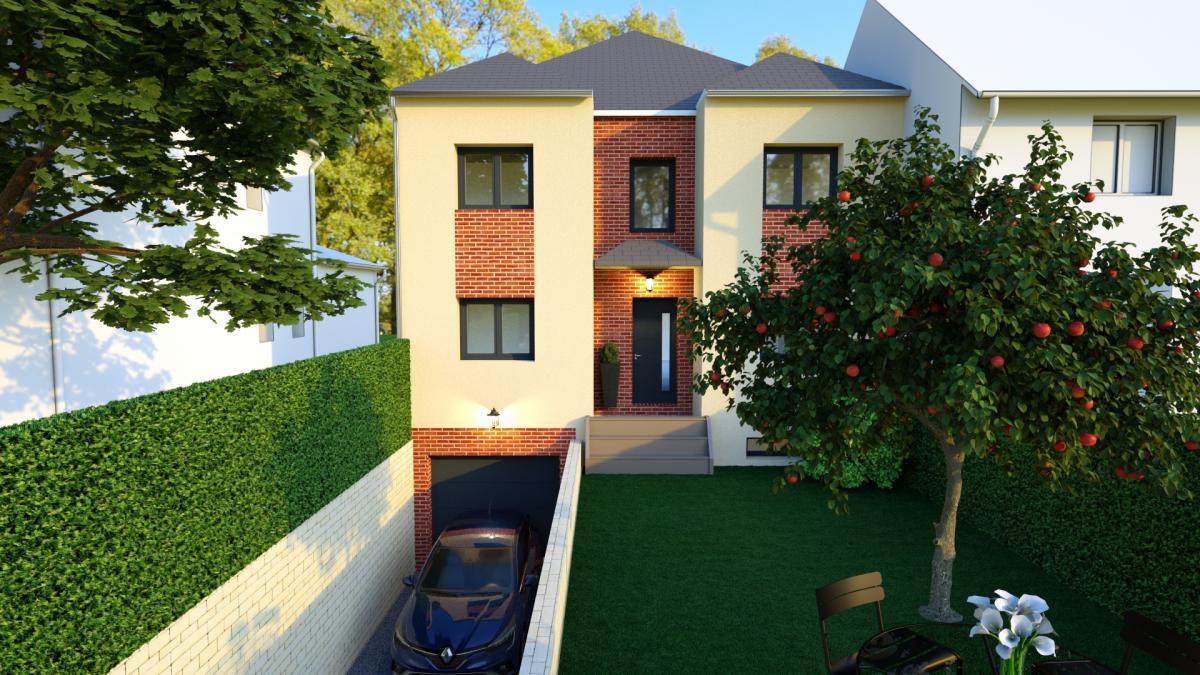 Maisons du constructeur MAISONS VESTALE 92 • 160 m² • ANTONY
