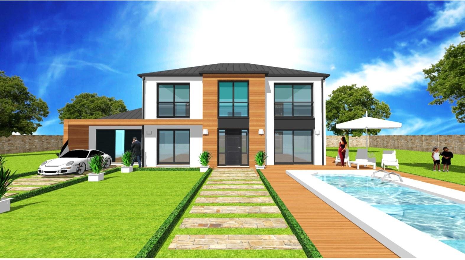 Maisons + Terrains du constructeur REABELLE • 145 m² • BAZOCHES SUR GUYONNE