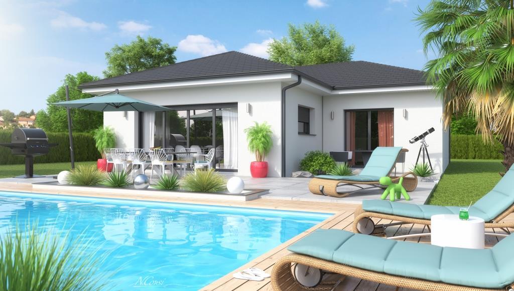 Maisons + Terrains du constructeur MAISONS FLORIOT • 98 m² • MESSIMY SUR SAONE