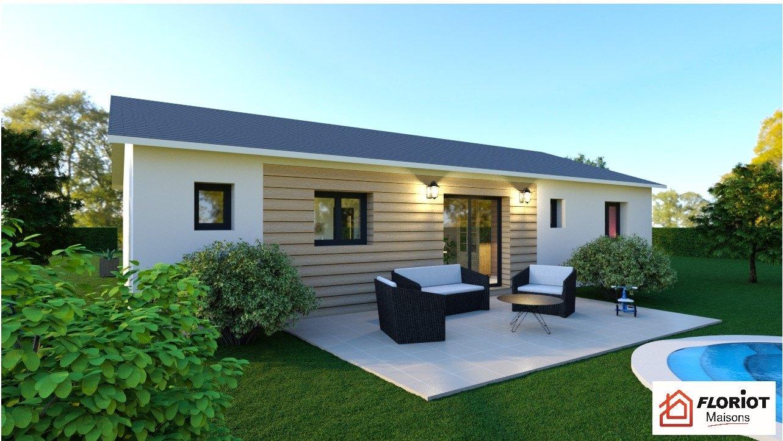 Maisons + Terrains du constructeur MAISONS FLORIOT • 90 m² • JASSERON