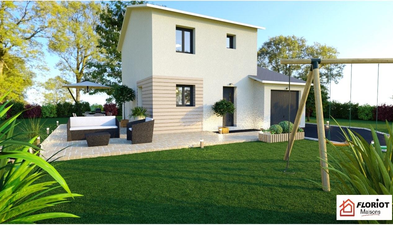 Maisons + Terrains du constructeur MAISONS FLORIOT • 85 m² • CHATEAU GAILLARD