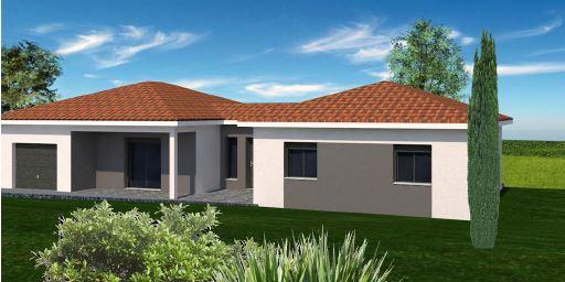 Maisons + Terrains du constructeur MAISONS FLORIOT • 104 m² • CHANEINS