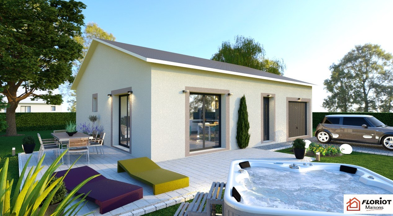 Maisons + Terrains du constructeur MAISONS FLORIOT • 84 m² • CHALEINS