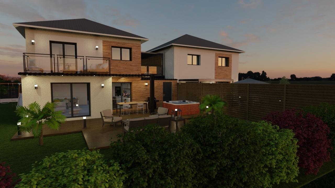 Maisons + Terrains du constructeur MAISONS FLORIOT • 100 m² • CROZET
