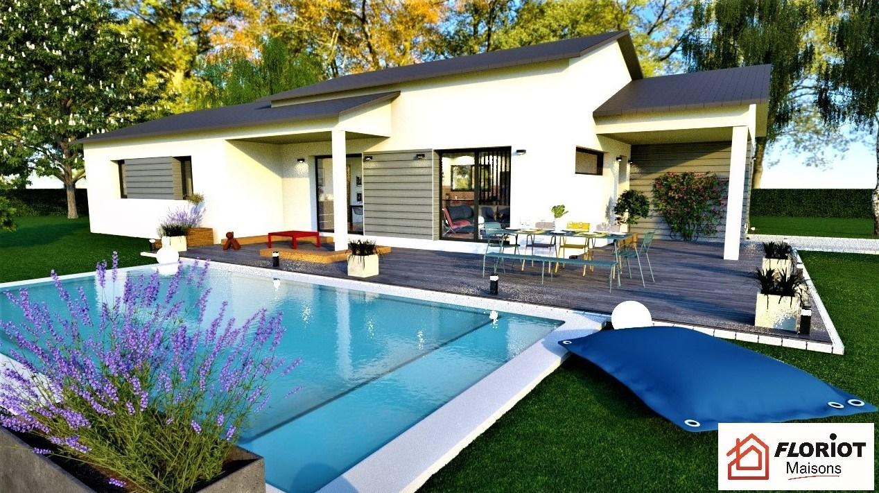 Maisons + Terrains du constructeur MAISONS FLORIOT • 95 m² • PERREX