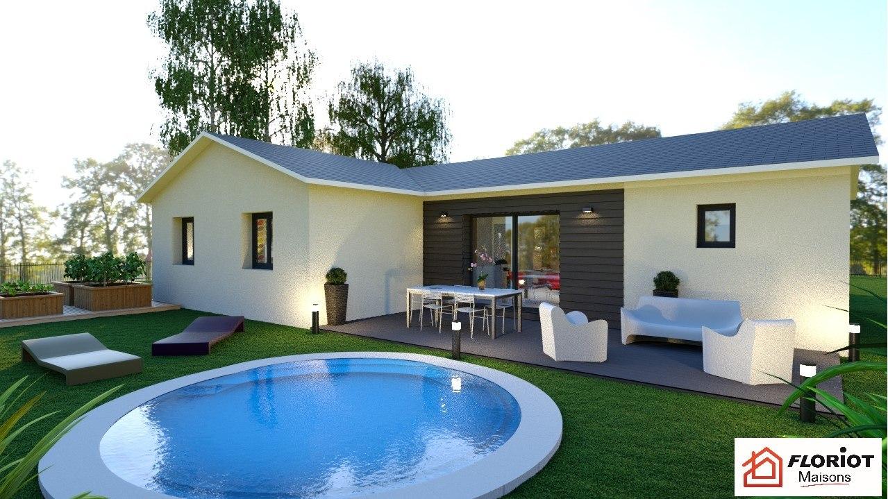 Maisons + Terrains du constructeur MAISONS FLORIOT • 90 m² • PERREX