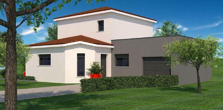 Maisons + Terrains du constructeur MAISONS FLORIOT • 105 m² • MESSIMY SUR SAONE