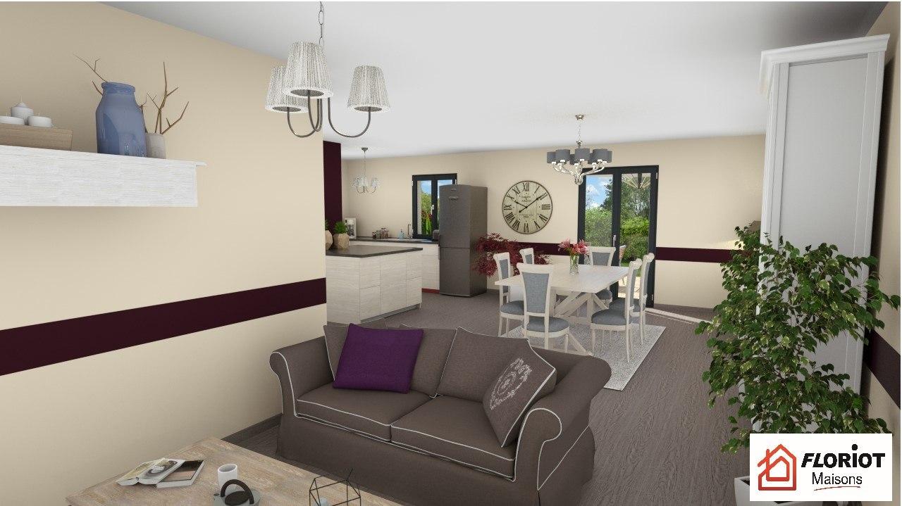 Maisons + Terrains du constructeur MAISONS FLORIOT • 85 m² • BLYES