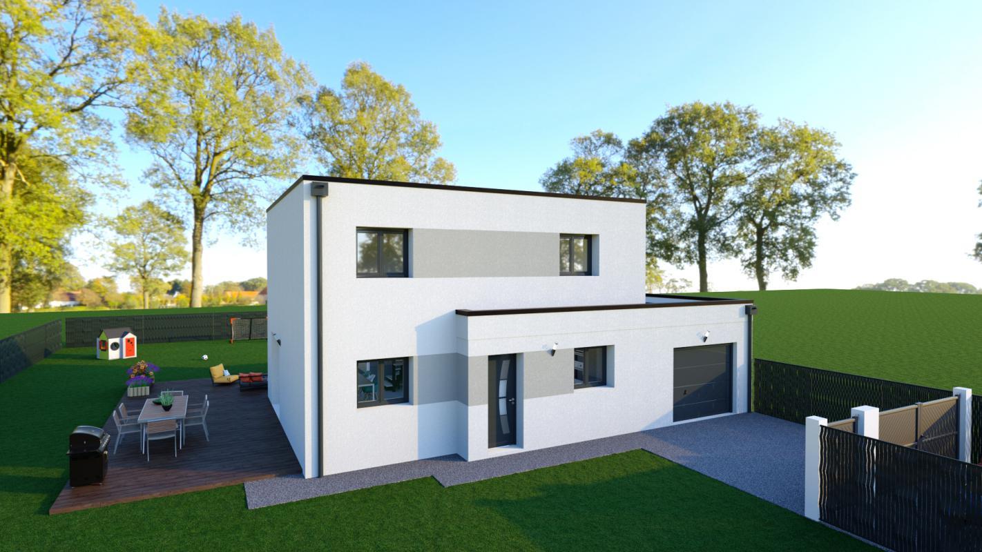 Maisons + Terrains du constructeur TRADIBAT NORMANDIE • 110 m² • MOULT