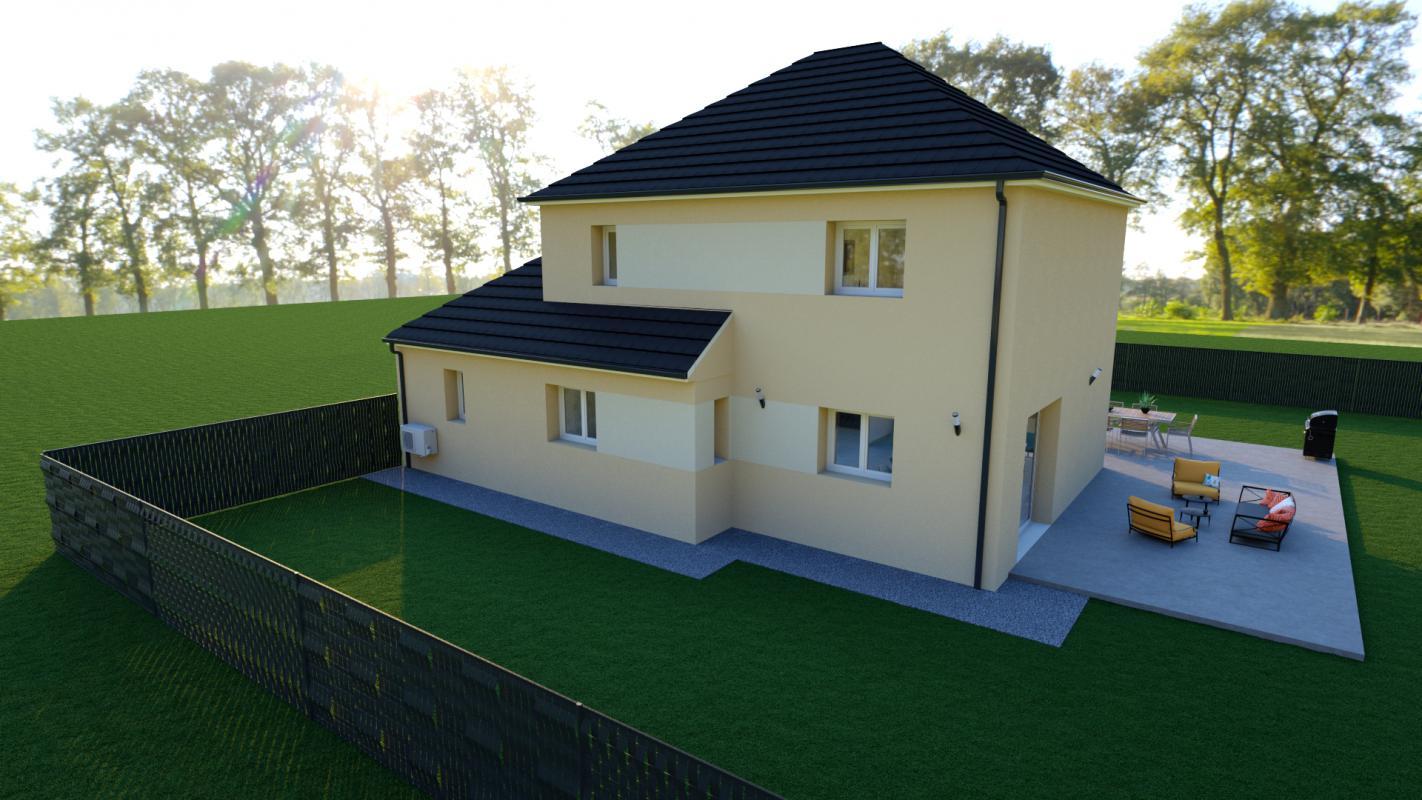 Maisons + Terrains du constructeur TRADIBAT NORMANDIE • 110 m² • MOUEN