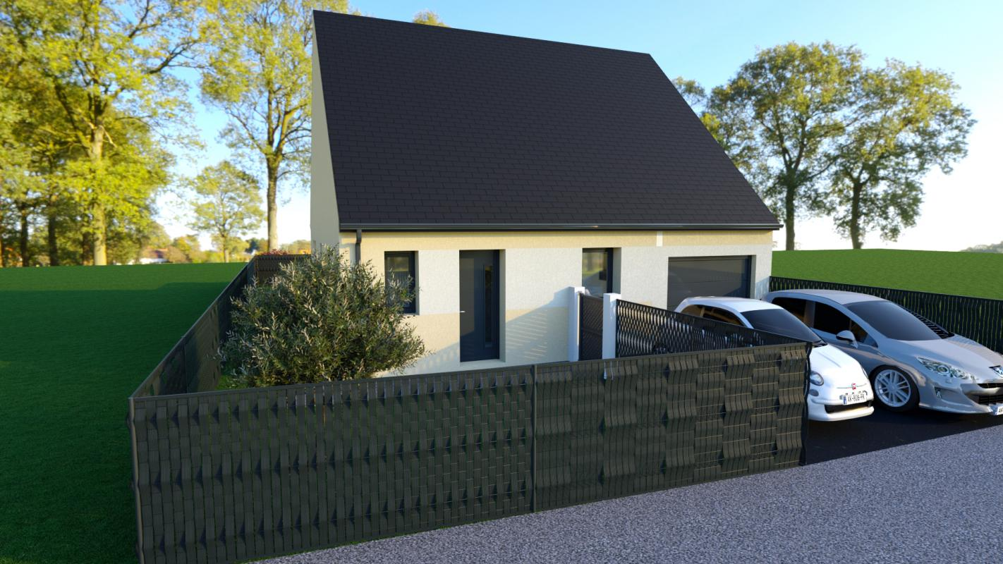 Maisons + Terrains du constructeur TRADIBAT NORMANDIE • 59 m² • CHEUX
