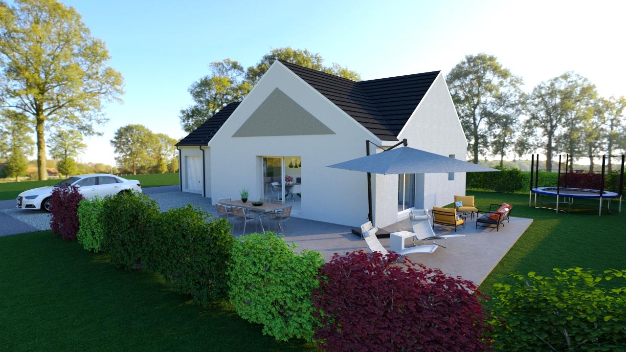 Maisons + Terrains du constructeur TRADIBAT NORMANDIE • 90 m² • VIEUX
