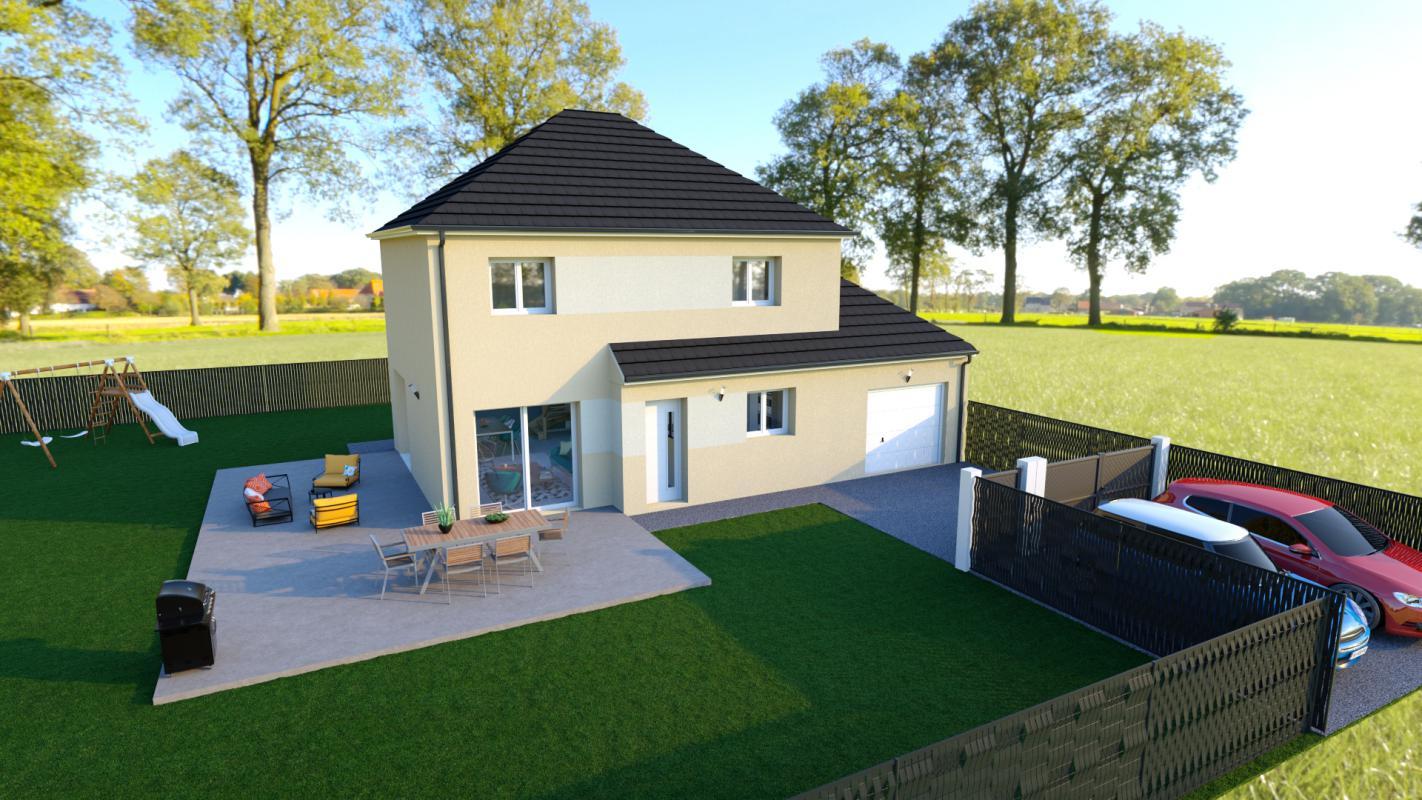 Maisons + Terrains du constructeur TRADIBAT NORMANDIE • 110 m² • VIEUX