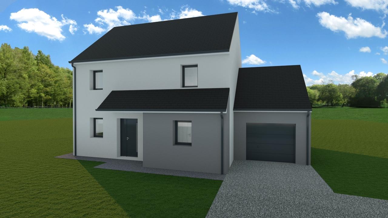 Maisons + Terrains du constructeur TRADIBAT NORMANDIE • 114 m² • MOSLES