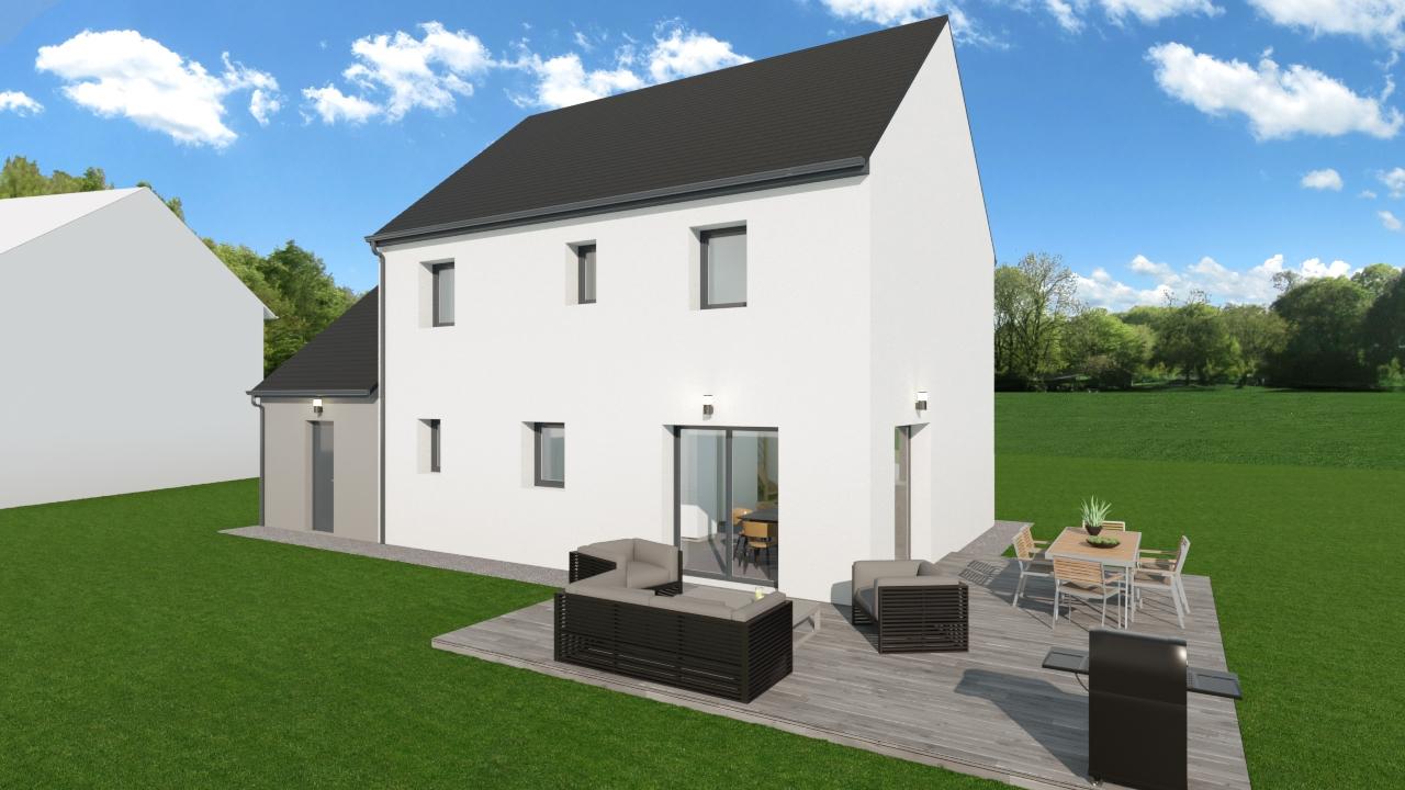 Maisons + Terrains du constructeur TRADIBAT NORMANDIE • 114 m² • FRENOUVILLE