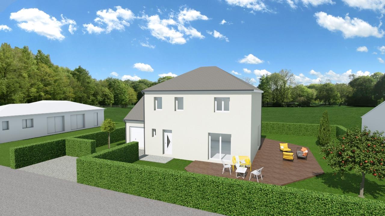 Maisons + Terrains du constructeur TRADIBAT NORMANDIE • 105 m² • BAYEUX