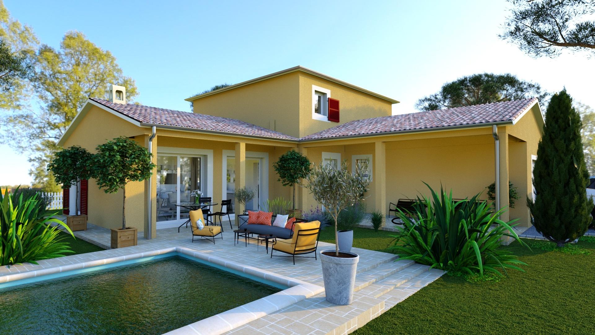 Maisons + Terrains du constructeur MAISONS LOGELIS • 116 m² • FONTAINES SAINT MARTIN