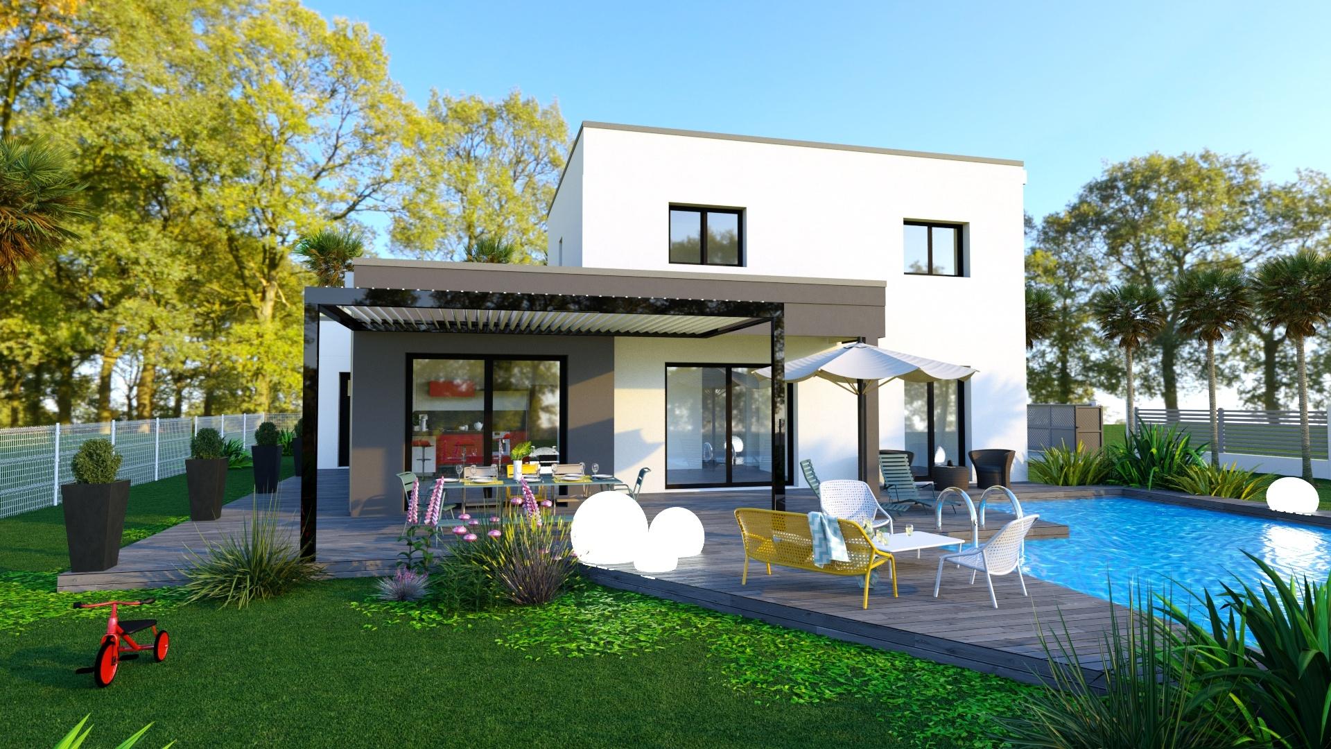 Maisons + Terrains du constructeur MAISONS LOGELIS • 101 m² • RILLIEUX LA PAPE