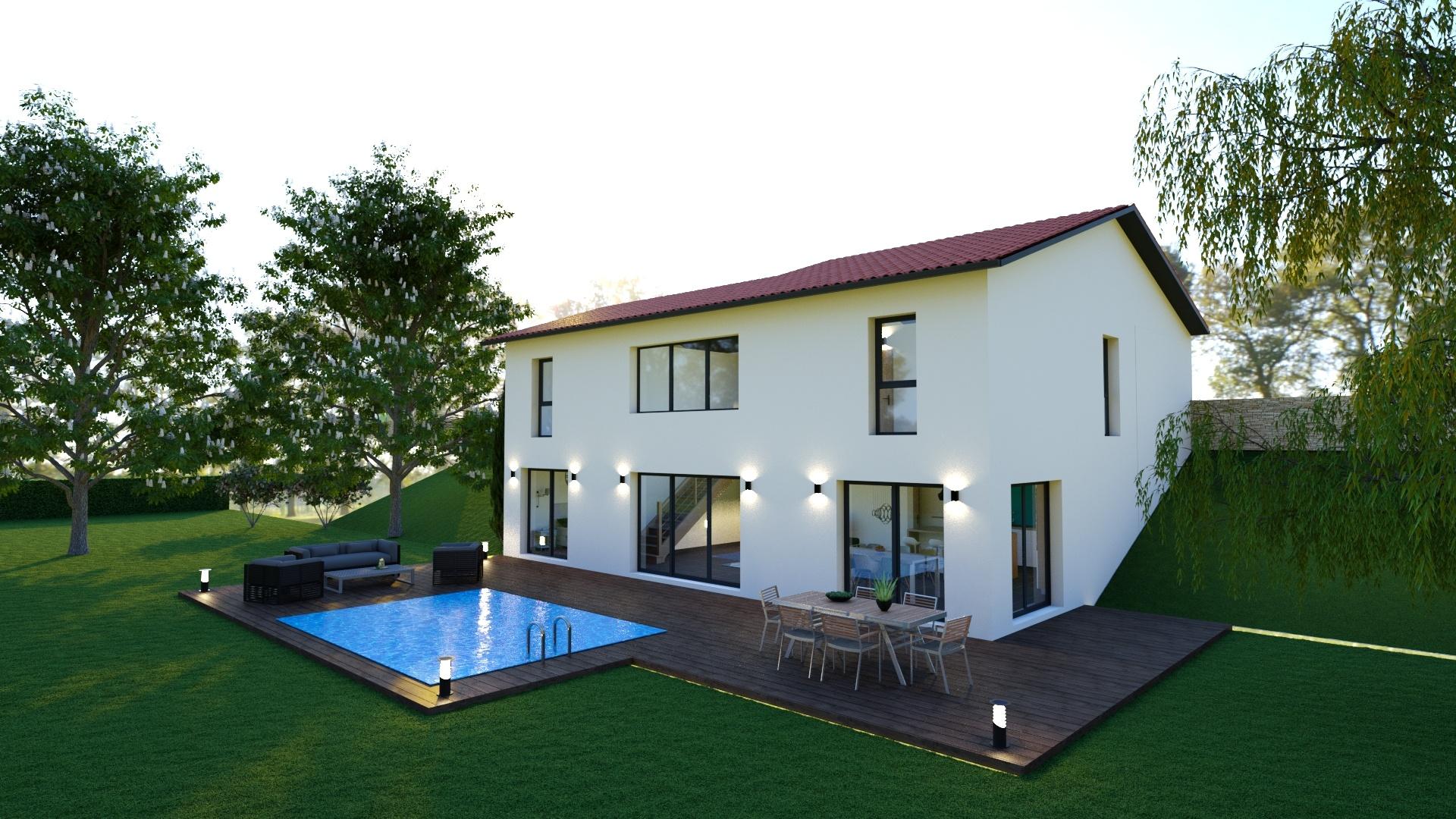 Maisons + Terrains du constructeur MAISONS LOGELIS • 101 m² • CURIS AU MONT D'OR