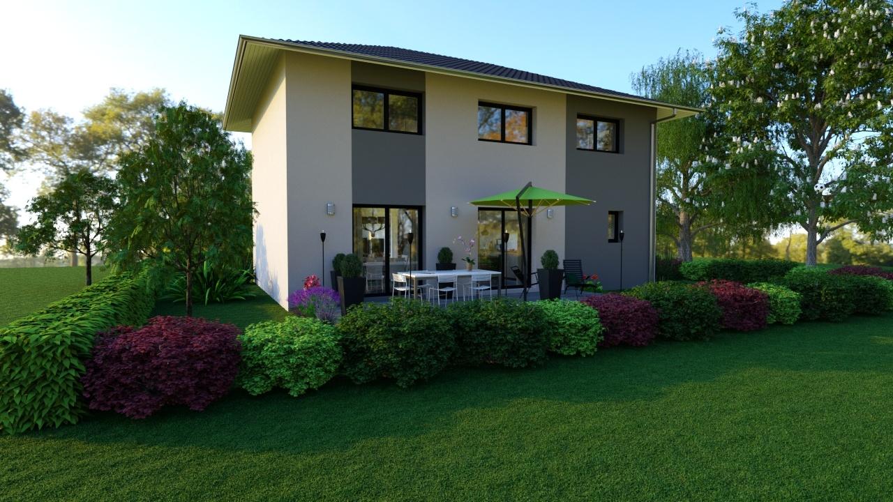Maisons + Terrains du constructeur MAISONS LOGELIS • 118 m² • RILLIEUX LA PAPE