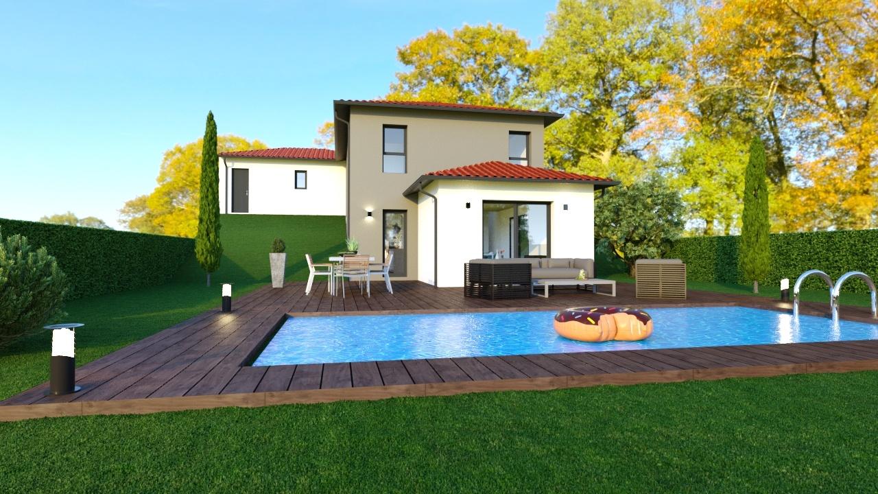 Maisons + Terrains du constructeur MAISONS LOGELIS • 101 m² • COUZON AU MONT D'OR