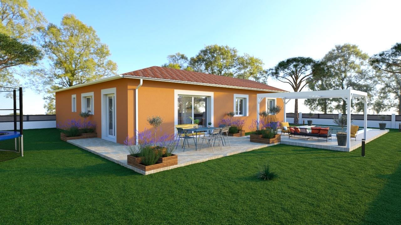 Maisons + Terrains du constructeur MAISONS LOGELIS • 100 m² • FONTAINES SAINT MARTIN