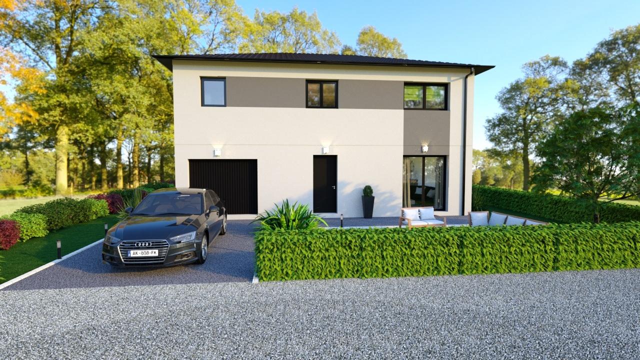 Maisons + Terrains du constructeur MAISONS LOGELIS • 118 m² • FONTAINES SAINT MARTIN