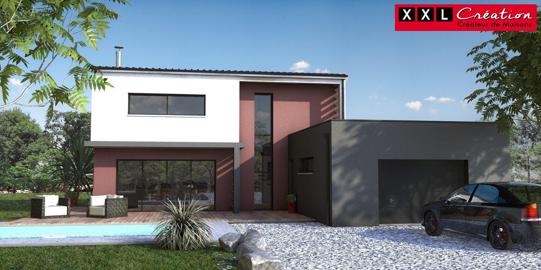 Maisons du constructeur XXL CREATION • 85 m² • CORBERE LES CABANES