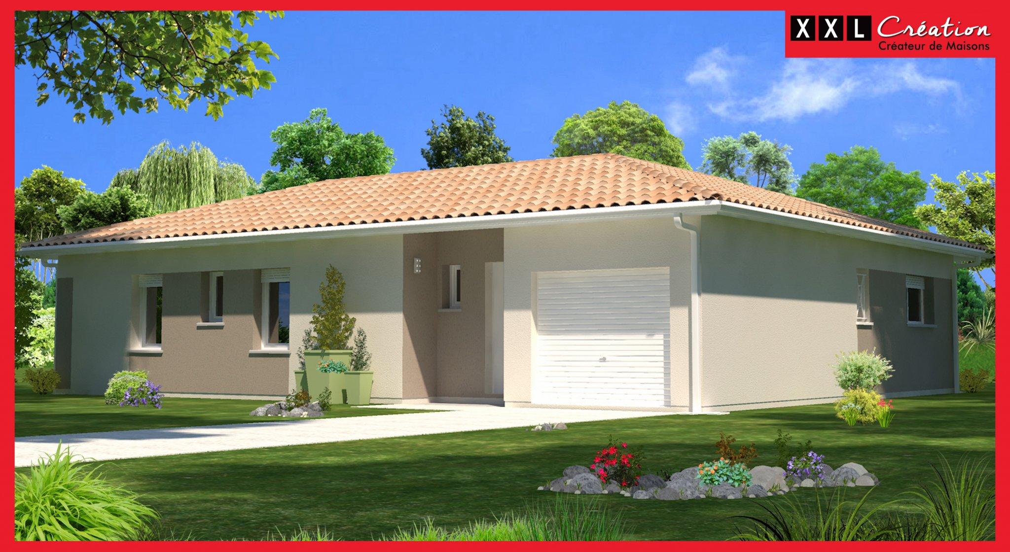 Maisons du constructeur XXL CREATION • 70 m² • CORBERE LES CABANES