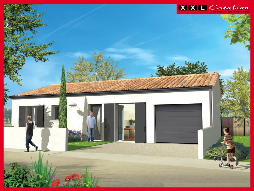 Maisons du constructeur XXL CREATION • 70 m² • SAINT GENIS DES FONTAINES