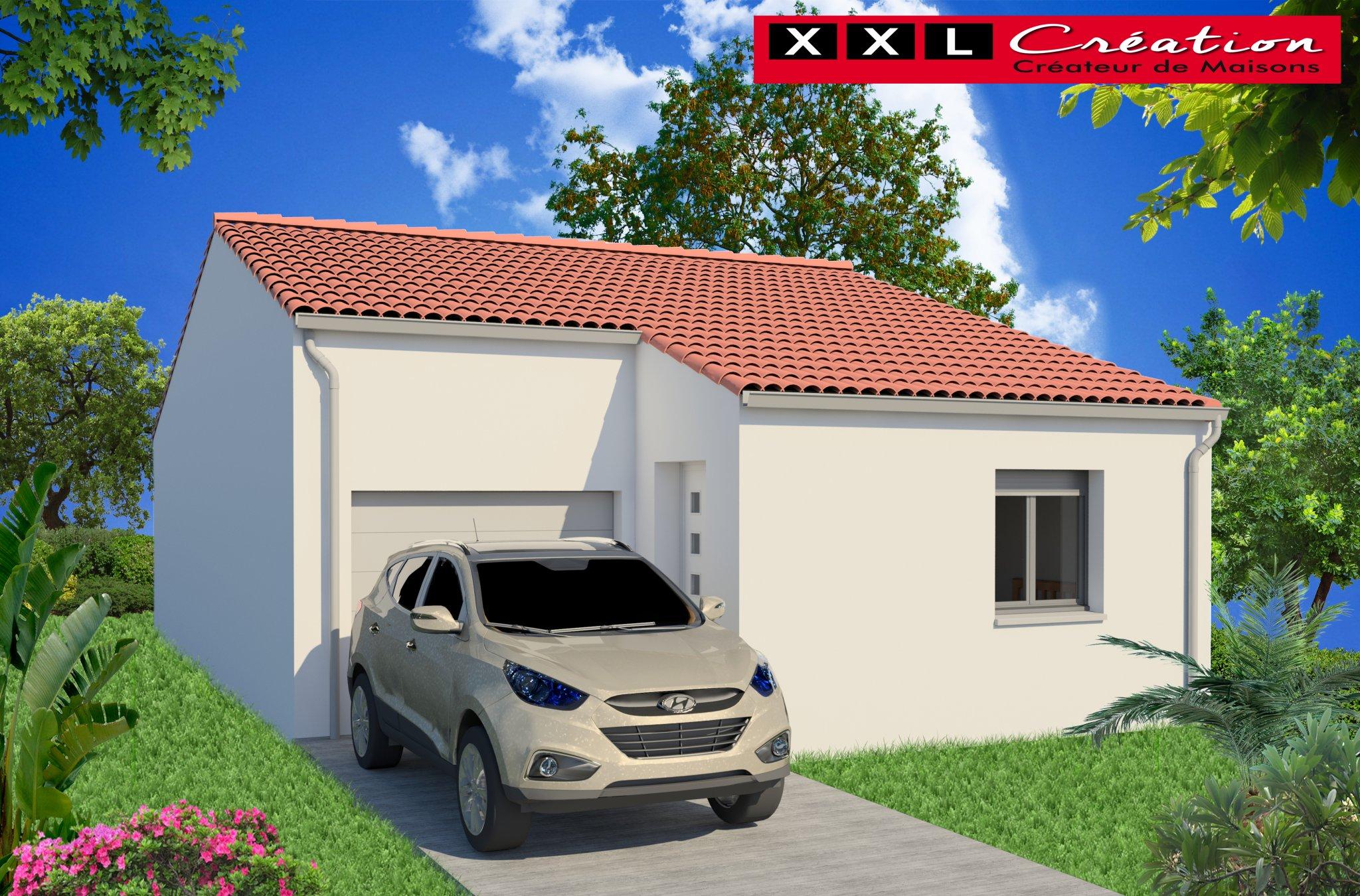 Maisons du constructeur XXL CREATION • 60 m² • SALSES LE CHATEAU