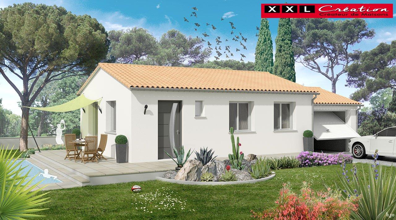 Maisons du constructeur XXL CREATION • 65 m² • CLAIRA