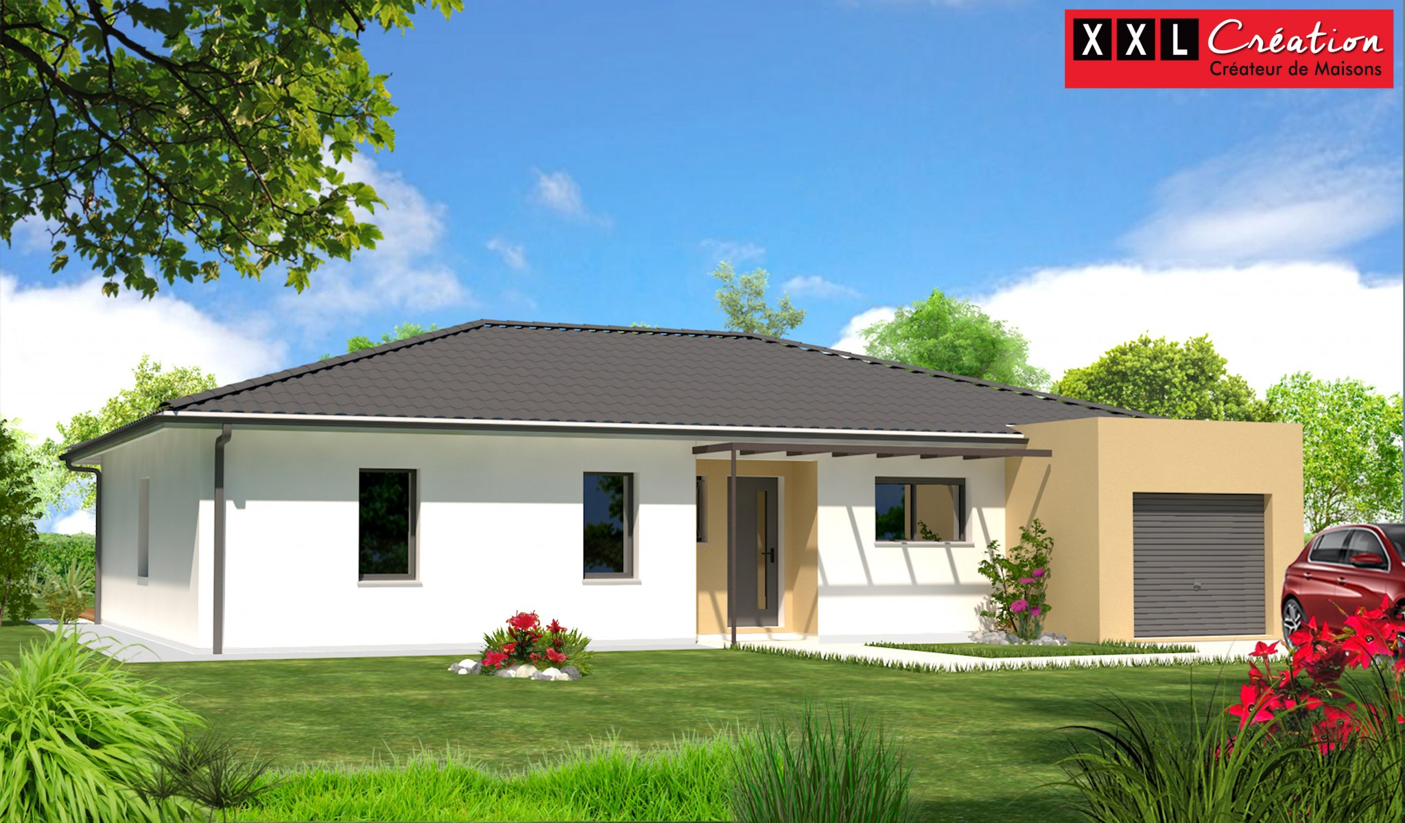 Maisons du constructeur XXL CREATION • 80 m² • TOULOUGES