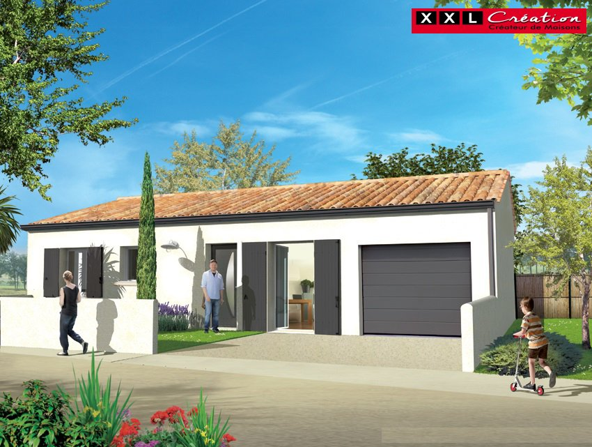 Maisons du constructeur XXL CREATION • 65 m² • THUIR
