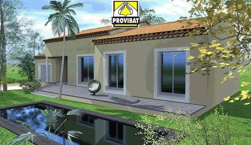 Maisons + Terrains du constructeur PROVIBAT • 120 m² • POUZOLS