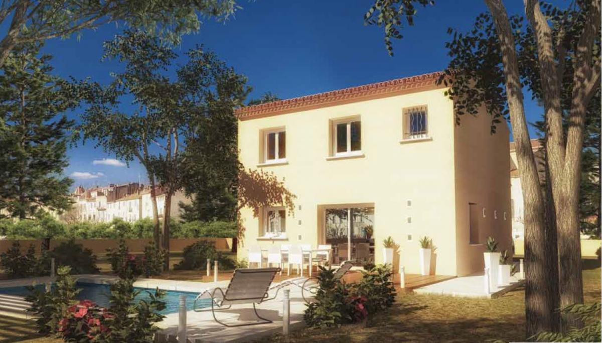 Maisons du constructeur CREAVILLA SUD EST • 96 m² • SORGUES