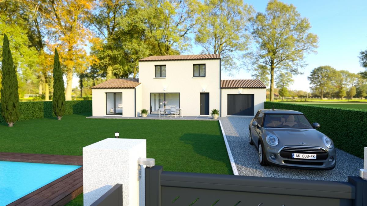 Maisons du constructeur CREAVILLA SUD EST • 126 m² • SORGUES