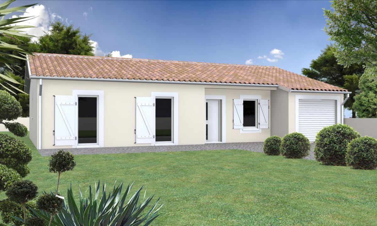 Maisons du constructeur ESQUISS 81 • 90 m² • CARAMAN