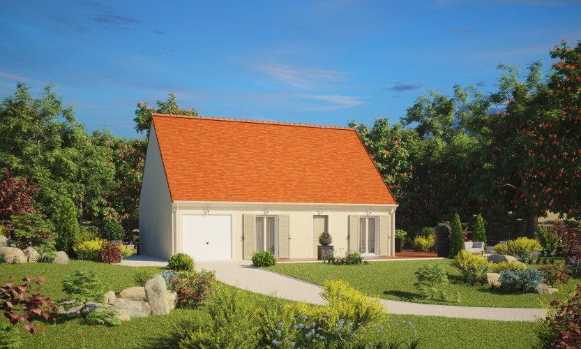Maisons du constructeur MAISONS PIERRE CAEN • 74 m² • VILLERS BOCAGE